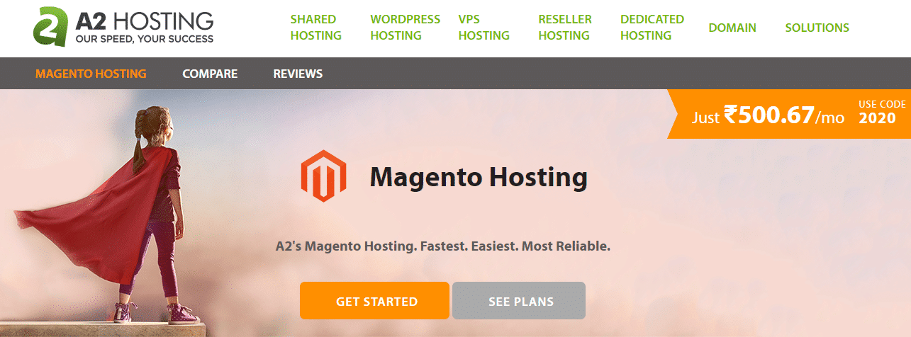 A2hosting.in - The Leader In Magento Hosting Optimized