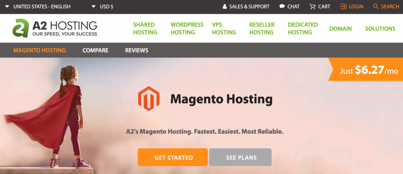 Managed Magento Hosting by A2hosting