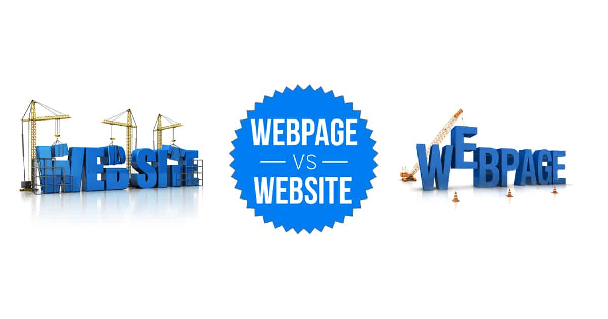 Webpage and Website